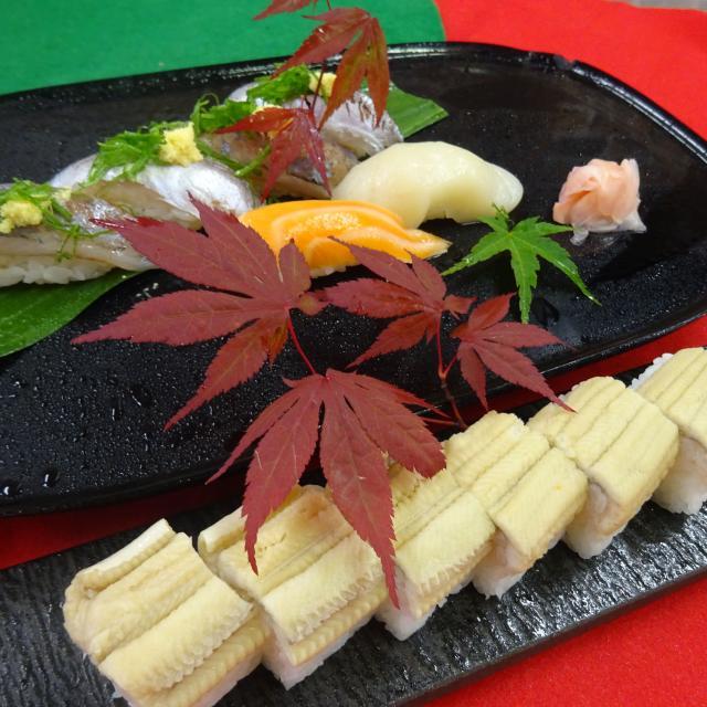 大阪調理製菓専門学校 【日本料理】プロに学ぶ!穴子の棒寿司&鯵の握り寿司1