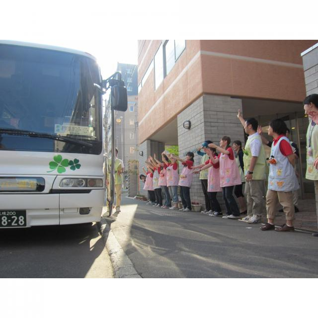 札幌こども専門学校 無料送迎バスツアー付オープンキャンパス1