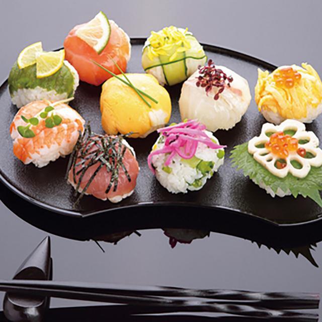 西武調理師専門学校 見た目も味も最高!おもてなし料理はこれ!手まり寿司です!1