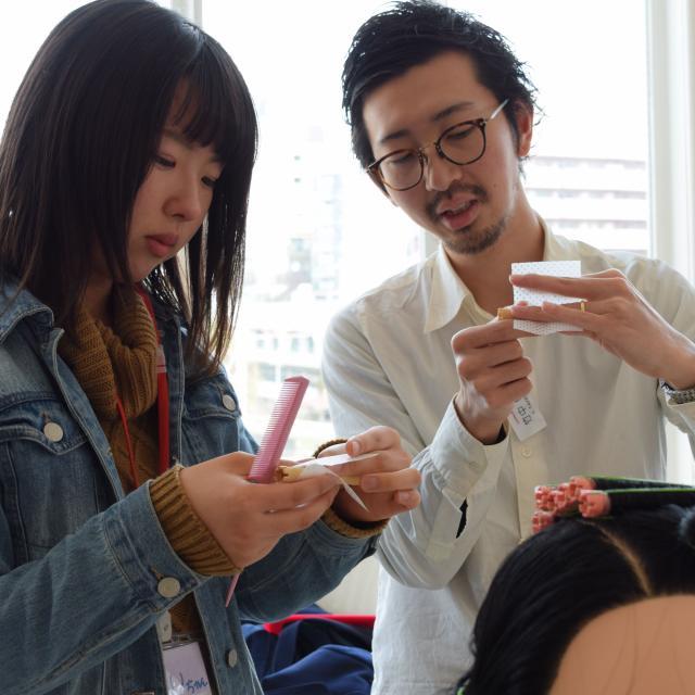 大阪ビューティーアート専門学校 【美容師】初めての方も大歓迎♪オープンキャンパス4
