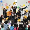 大阪健康ほいく専門学校 こどもたちとシークレット体験