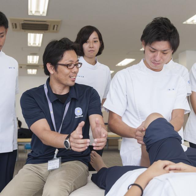 専門学校 琉球リハビリテーション学院 オープンキャンパス:理学療法学科(昼間主・夜間主)2