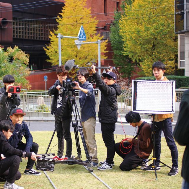 専門学校 九州ビジュアルアーツ 5月の体験入学(放送・映画・CG映像など)4