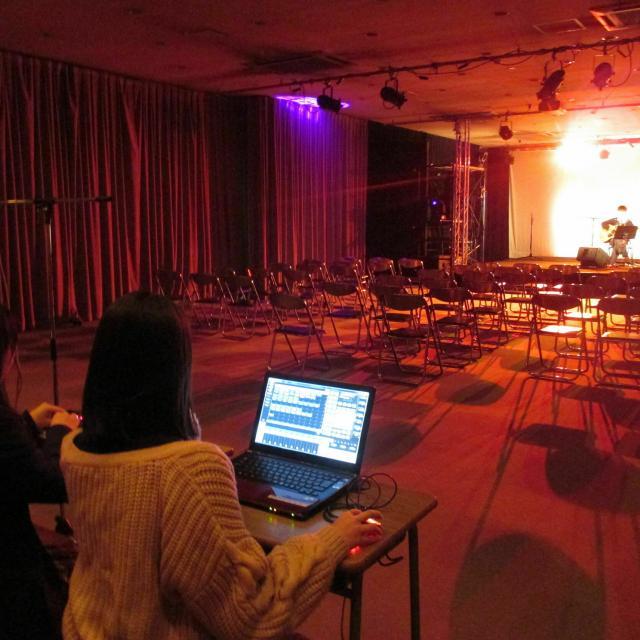 岡山科学技術専門学校 【映像音響学科】映像&音響の業界スタッフ体験ができるイベント1