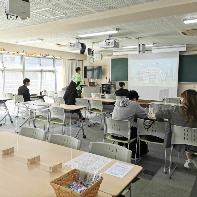 東京福祉保育専門学校 介護のオープンキャンパス☆優しさNO1の先生と先輩に会える!3