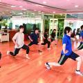 福岡リゾート&スポーツ専門学校 【スタジオ体験】エクササイズで楽しく体を動かそう☆