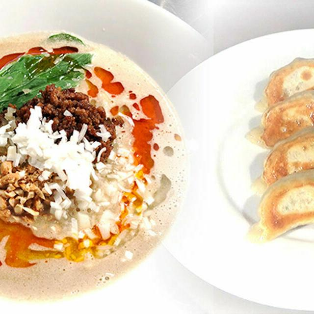 武蔵野調理師専門学校 【中国料理】皮から手作りもちもち焼き餃子と担々麺1