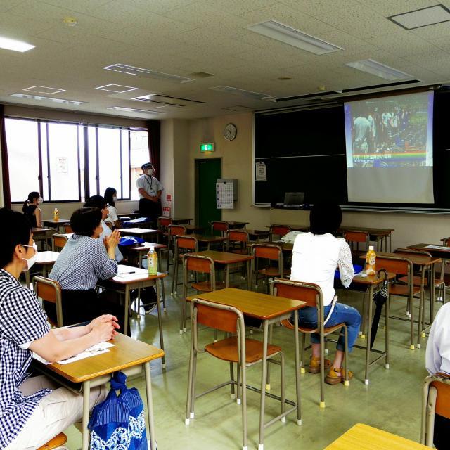 神戸総合医療専門学校 オープンキャンパス 理学療法士科 第3部3