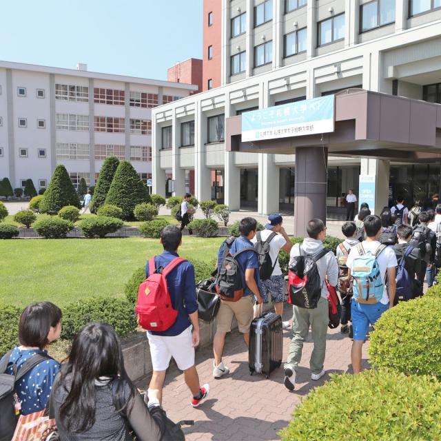 札幌大学オープンキャンパス