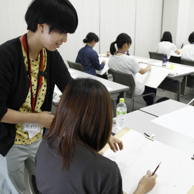 嵯峨美術短期大学 入試対策実技講習会2