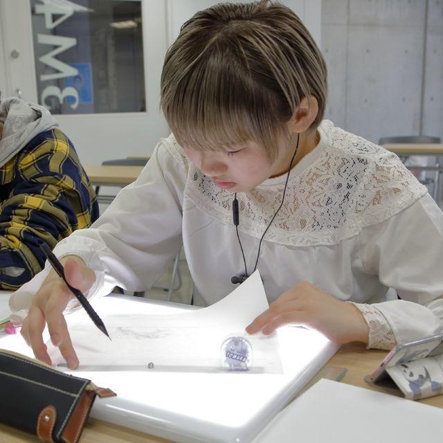 東放学園映画専門学校 アニメーション映像科の体験入学「アニメ制作体験」1
