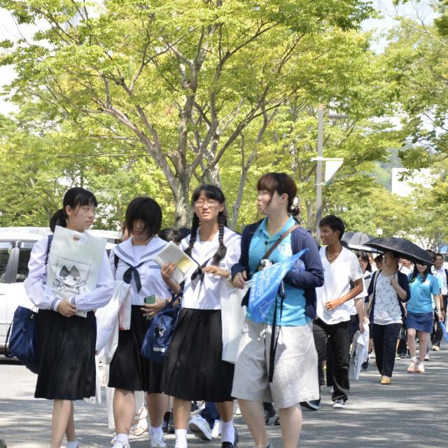 山口大学 2018オープンキャンパス【吉田キャンパス】1