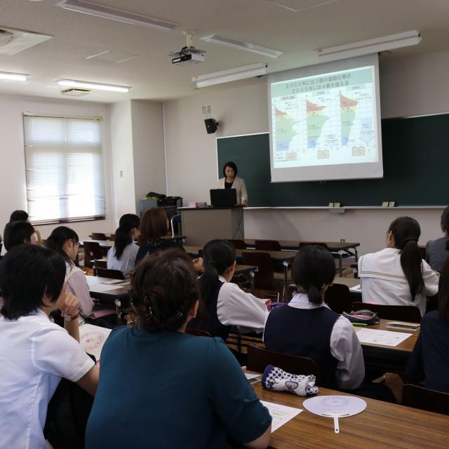 鹿児島純心女子大学 キャンパス見学会3
