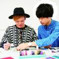 神戸ファッション専門学校 7/18 『ファッションノート』製作♪