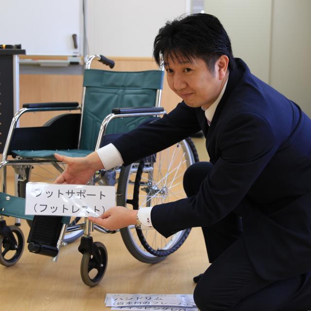 大原保育医療福祉専門学校熊本校 \介護分野対象/保護者説明会3