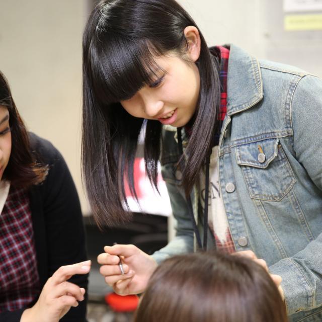 熊本ベルェベル美容専門学校 美容の世界を知ろう!オープンキャンパス4