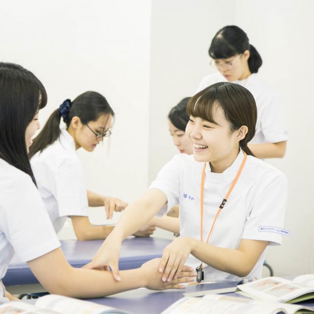 横浜リハビリテーション専門学校 春休み!横リハ体験授業4