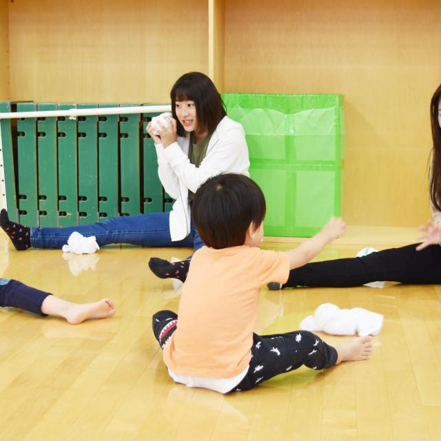 横浜保育福祉専門学校 体験入学 子どもと楽しめるキッズレク♪3