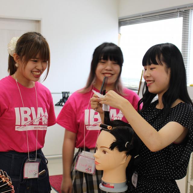 IBW美容専門学校 新校舎でオープンキャンパス開催☆オルチャンメイクを体験!2