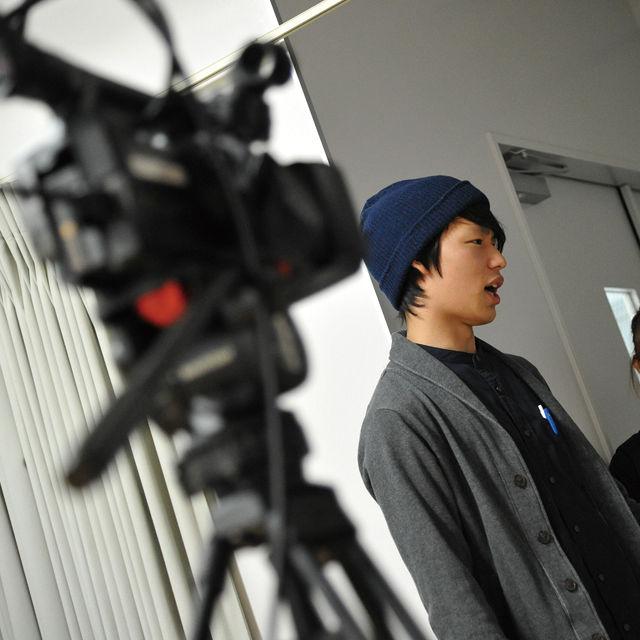 専門学校東京アナウンス学院 演技科の体験入学「ドラマ・映画俳優レッスン」1