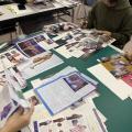 神戸ファッション専門学校 12/14 『ファッションノート』製作