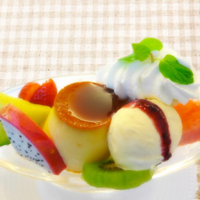 東京栄養食糧専門学校 【定員に達したため募集停止します】プリンアラモードを作ろう!1