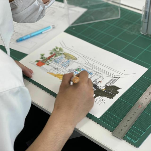 仙台工科専門学校 業界必須のデザインセンスを磨く!【建築デザイン学科】2