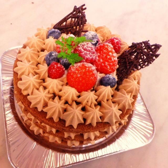 神戸製菓専門学校 【パティシエのお仕事体験♪】チョコレートケーキ作り1