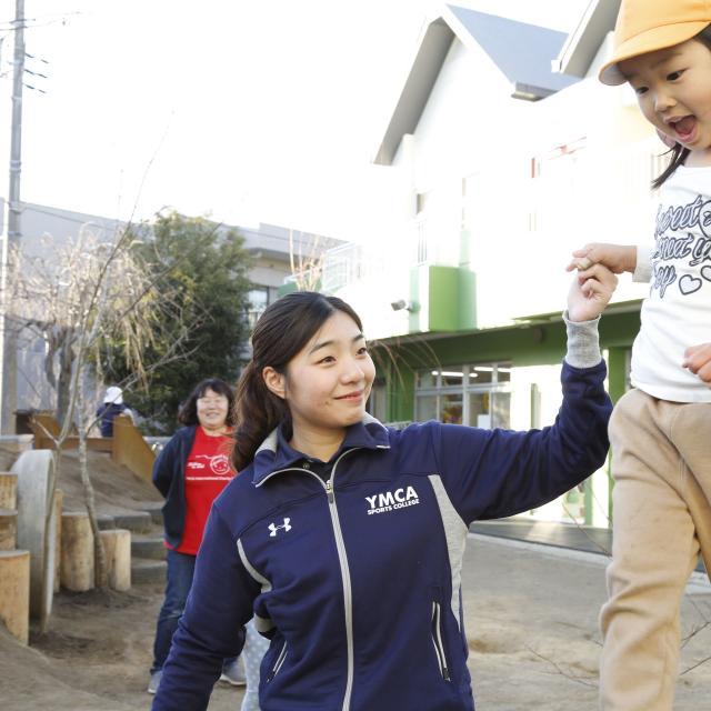 横浜YMCAスポーツ専門学校 保育実技3