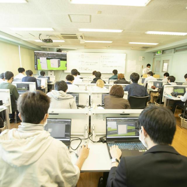 国際理工情報デザイン専門学校 【授業体験会】対象:情報ネットワーク科3