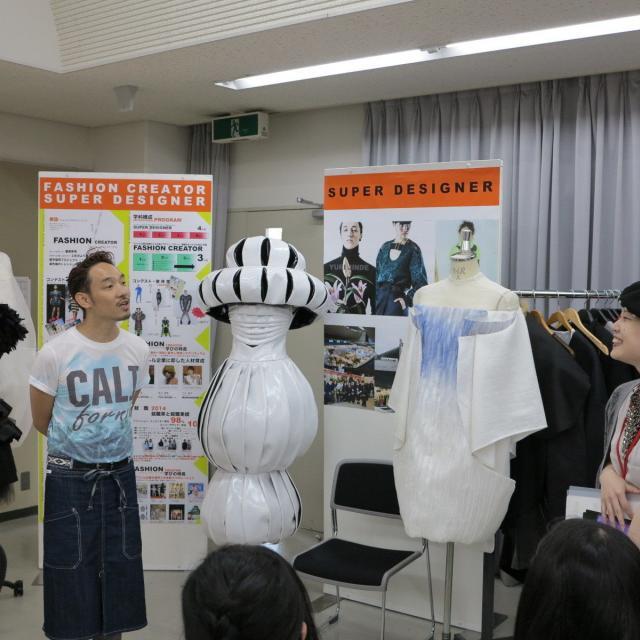 大阪文化服装学院 オープンキャンパス 学生との交流会Day2