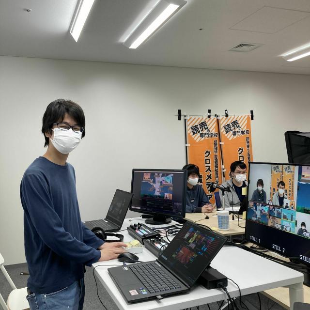 読売理工医療福祉専門学校 IT・WEB・ゲームの学びを体験できるオープンキャンパス1