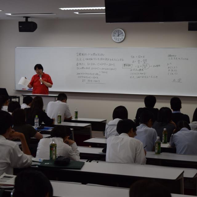 常葉大学 2018オープンキャンパス (静岡水落キャンパス)2