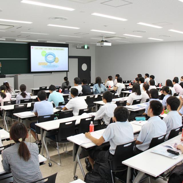 日本大学 ●危機管理学部・スポーツ科学部●7月オープンキャンパス3