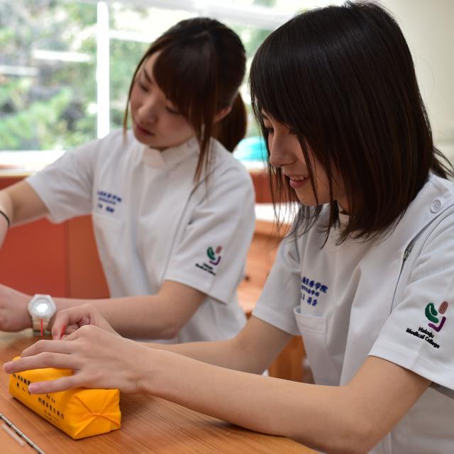 専門学校白寿医療学院 2019年度オープンキャンパス1