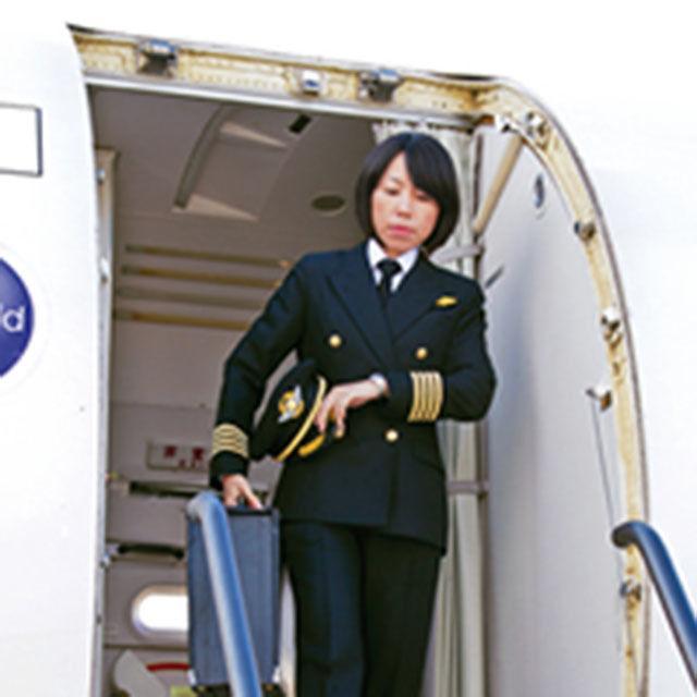 大阪航空専門学校 <飛行機も見れるよ> 憧れのCA、グランドスタッフを体験3
