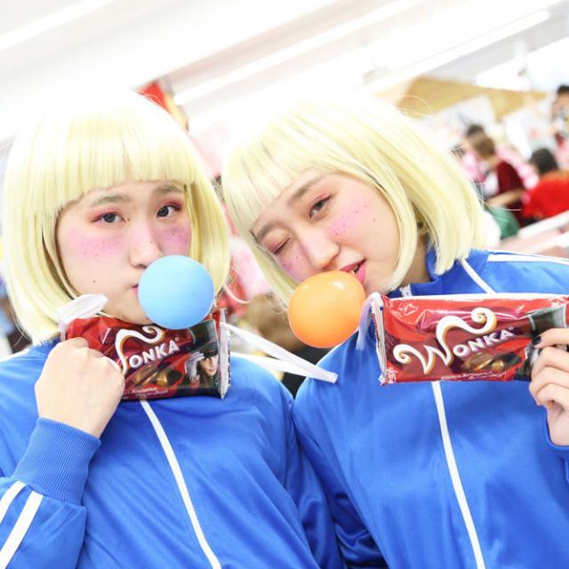 名古屋美容専門学校 HALLOWEEN学校祭′183