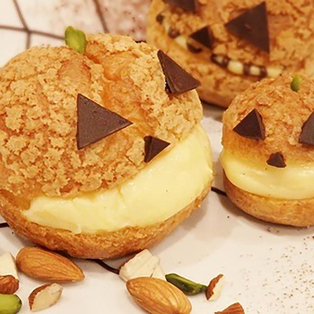大阪調理製菓専門学校 スペシャル!ビュッフェ同時開催★ハロウィンシュー1