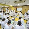 多摩リハビリテーション学院専門学校 血圧を測定してみよう!