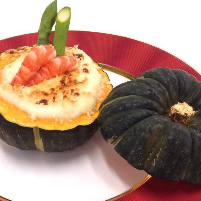 東京調理製菓専門学校 かぼちゃのグラタン2