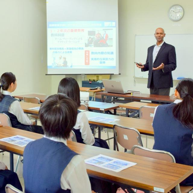 宮崎国際大学 週末キャンパス見学会1
