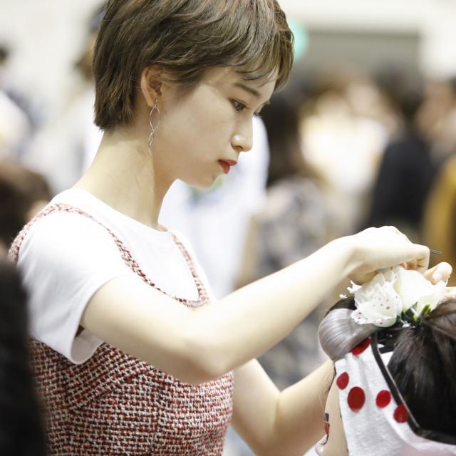 名古屋美容専門学校 HAIR FESTA′183