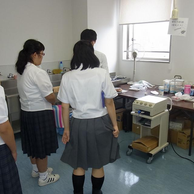 <医療情報学科>8月26日学校見学会(無料送迎の予約)