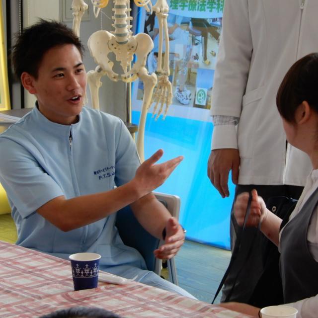 専門学校 柳川リハビリテーション学院 臨床現場を肌で体験・体感★柳川リハビリテーション病院見学★2