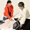 織田ファッション専門学校 雑誌のスタイリスト体験