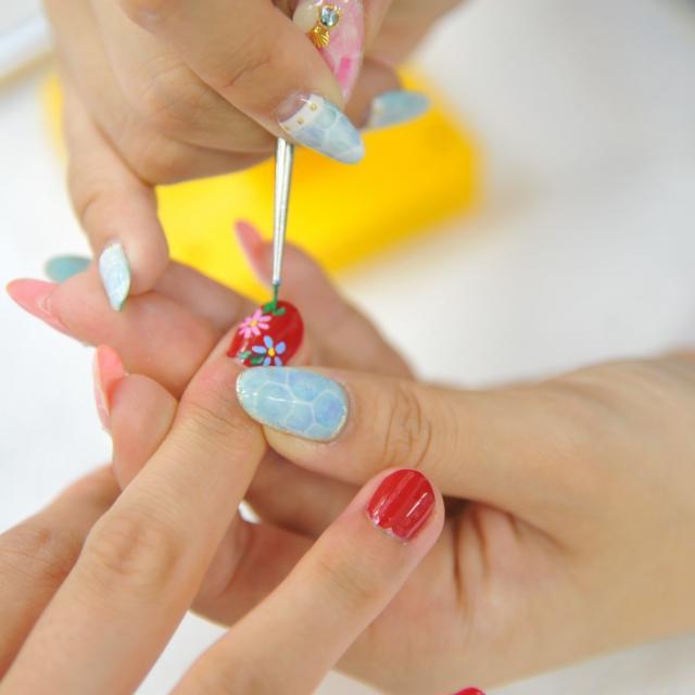 山野美容芸術短期大学 夏の肌ケア対策&美容体験オープンキャンパス3