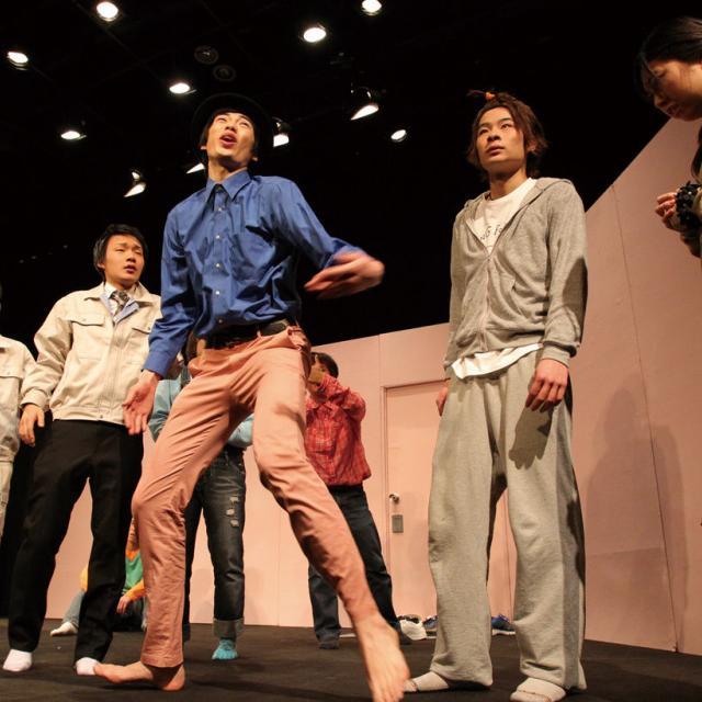 大阪ダンス&アクターズ専門学校 舞台俳優演技レッスン1