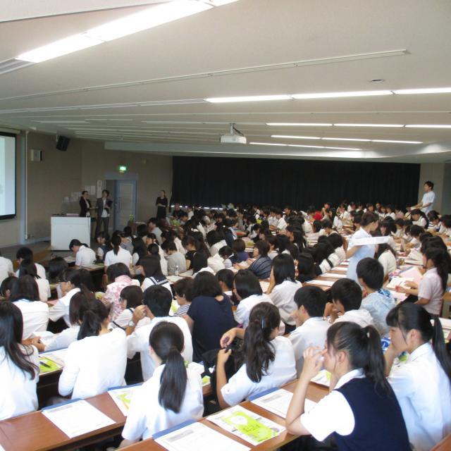 【看護学科】夏のオープンキャンパス(特別講座参加なし)