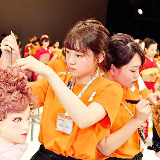 グラムール美容専門学校 沖縄で開催!グラムールスプリングコンテスト!2