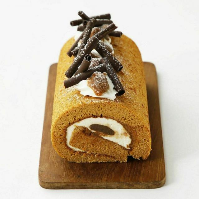 大阪調理製菓専門学校 生キャラメルロールケーキ体験コース1